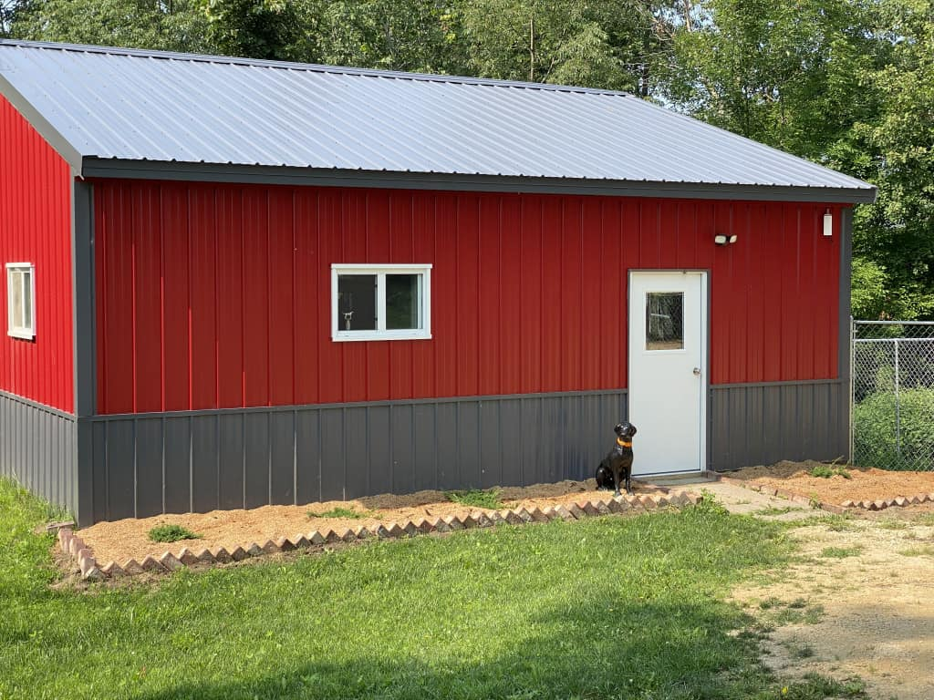kennel building otter tail kennels