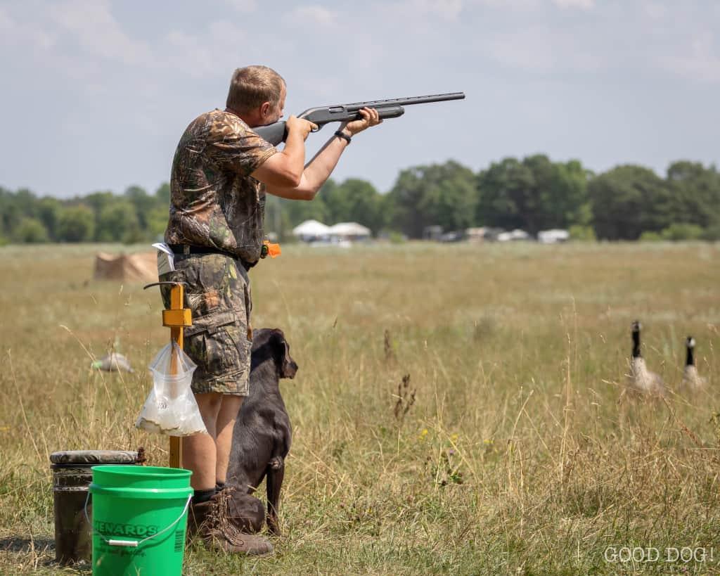 Hunt test training